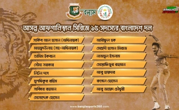 bangladesh squad for afganistan